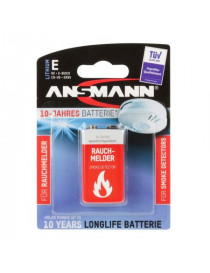 LITHIUM BATTERY 6LR61 SMOKE...